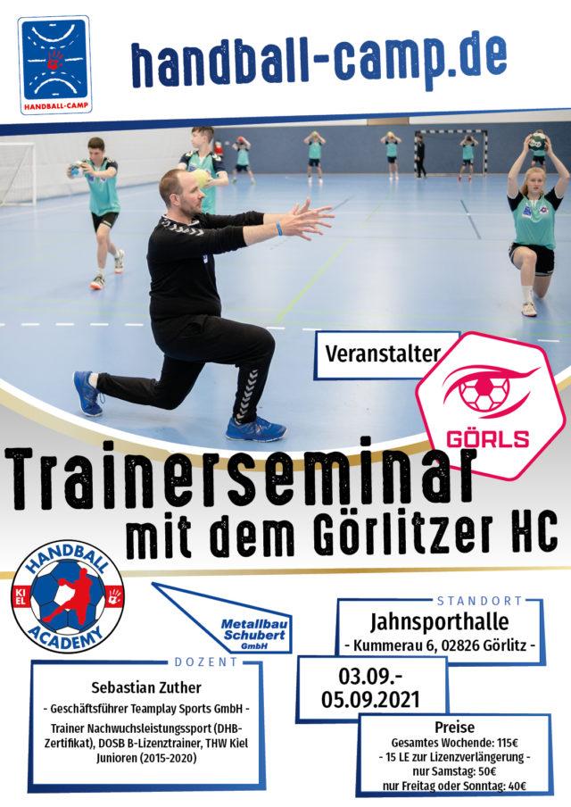Trainerseminar mit dem Görlitzer HC