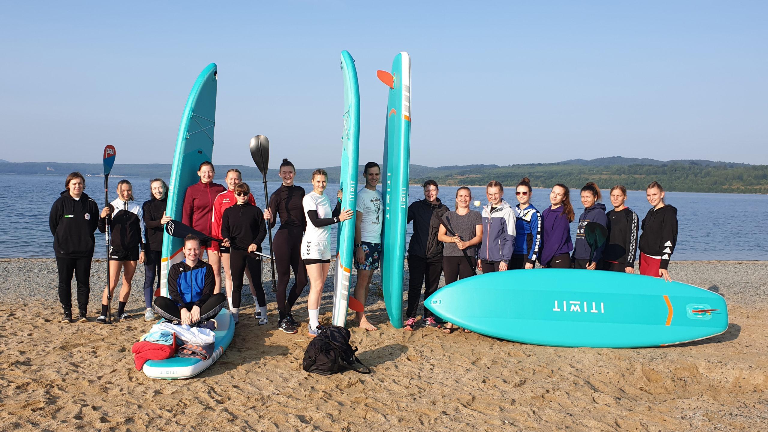 Am Sonnabendmorgen trafen sich die GÖRLS am Berzdorfer See.
