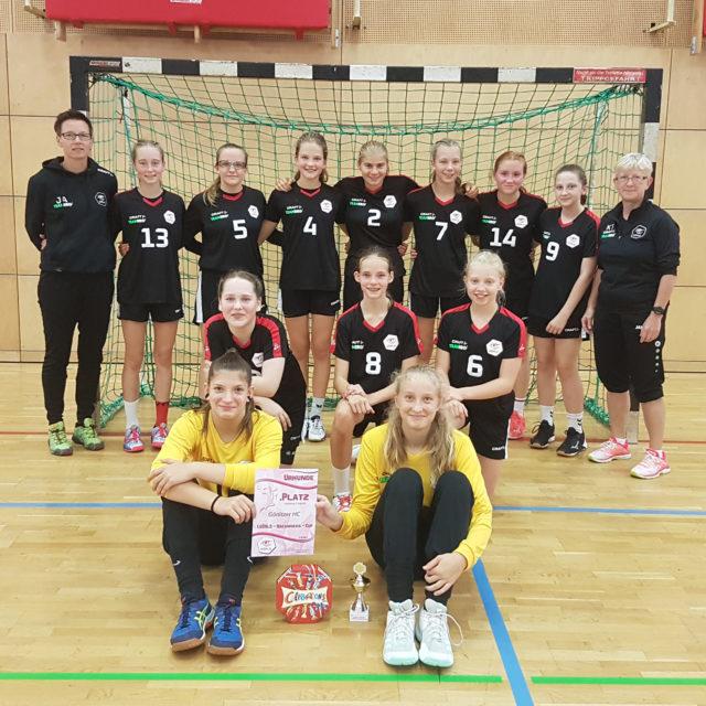 1. GÖRLS-Cup wJC: Pokal blieb in Görlitz
