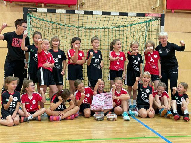 1. GÖRLS-Cup wJE: Spielerinnen konnten eine Leistungssteigerung nachweisen